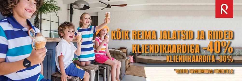 REIMA HOOAJA ALLAHINDLUS -40%