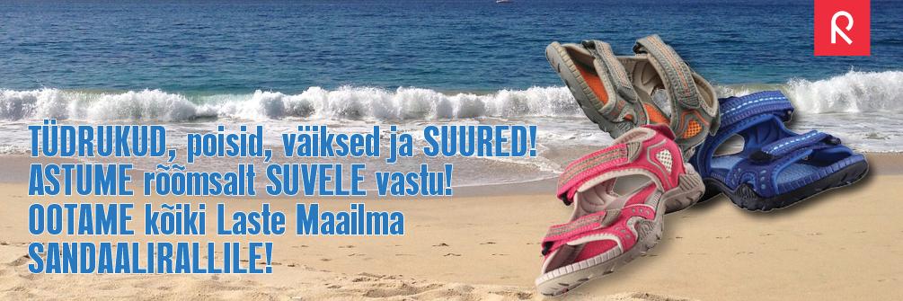 Ilus sandaalide valik Laste Maailmas!
