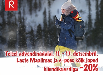 Talvejopede kampaania -20% 11.-17.12