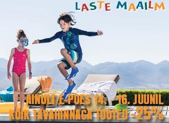 LASTE MAAILM E-POES 14.-16. juunil -25%