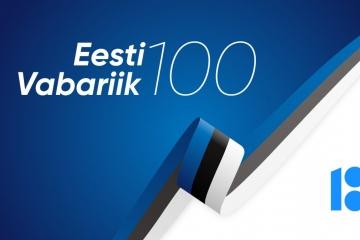 ILUSAT EESTI VABARIIGI 100. SÜNNIPÄEVA!