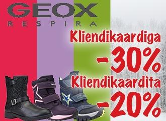 Geox jalanõude kampaania!