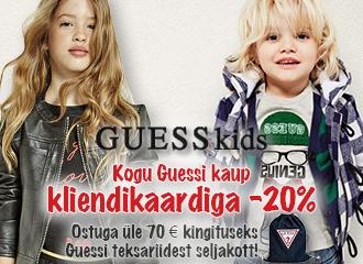 GUESS kids kollektsiooni allahindlus -20%