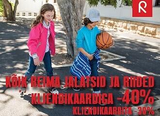 REIMA HOOAJA ALLAHINDLUS -40%!