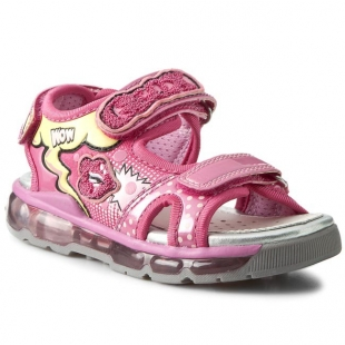 Geox tüdrukute sandaalid ANDROID J620PA, Fuksia