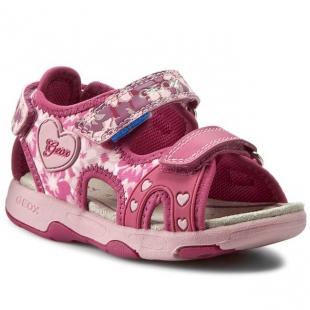 Geox´i väikelaste sandaalid MULTY, Fuksia/roosa