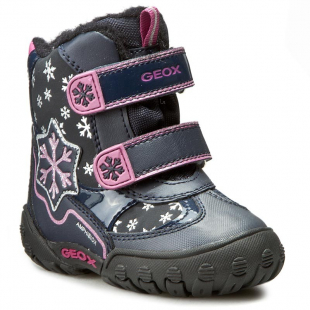 Geox`i tüdrukute talvesaapad GULP, 6980 Tumesinine