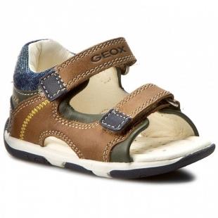 Geoxi´i väikelaste sandaalid TAPUZ, C5GF4 pruun/t.sin.