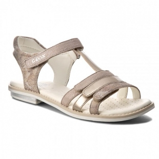 Geox´i tüdrukute sandaalid GIGLIO, C5000 Beež