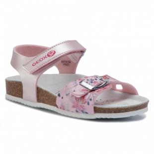 Geox`i tüdrukute sandaalid ADRIEL, C8008 Roosa
