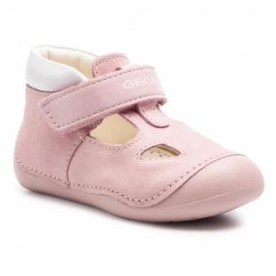 Geox`i tüdrukute kingad TUTIM, C0811 Roosa/valge