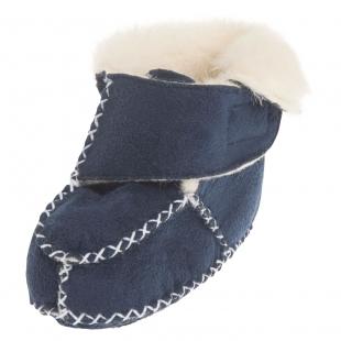 Playshoes lambavillaga beebi papud 105932, 11 tumesinine