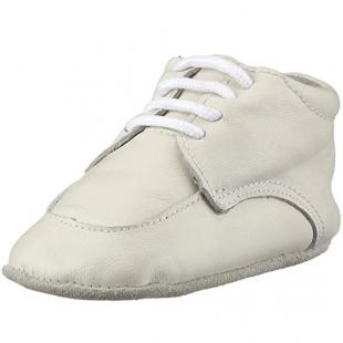 Playshoes beebi nahkpapud 107727, 1 valge