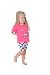 Gary tüdrukute pidžaama 145052, Tumeroosa