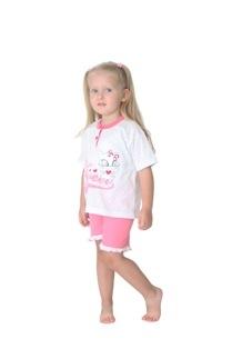 Gary tüdrukute pidžaama 145055, Tumeroosa