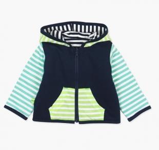 Boboli väikelaste jakk 147181, t.sinine/triibuline
