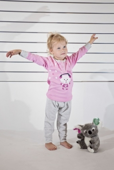 Gary tüdrukute pidžaama 150002, Roosa