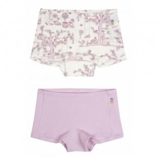Joha tüdrukute bokserid 2-pakk 83141, 3049 valge/roosa
