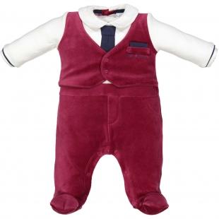 Birba poiste pidulik kostüüm 54531, 10E Valge/punane