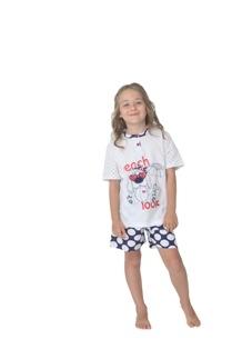 Gary tüdrukute pidžaama 245096, 6980 Tumesinine