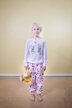 Gary tüdrukute pidžaama 250023, Heleroosa