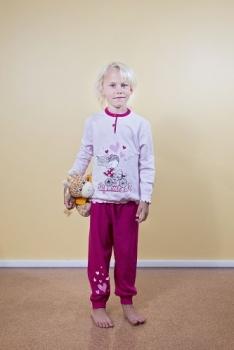Gary pidžaama Jalgrattur 260026, Heleroosa