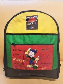 Seljakott Mickey Work, kirju