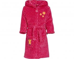 Playshoes fliisist hommikumantel Hiir 340182, 18 roosa