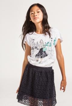 Boboli tüdrukute T-särk 417170, Valge