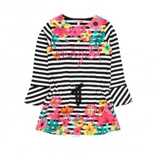 Boboli tüdrukute kleit 428082, triibuline