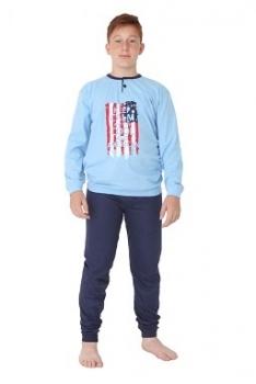 Gary poiste pidžaama Ameerika 460057, Sinine