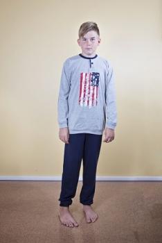 Gary poiste pidžaama Ameerika 460057, 6980 Tumesinine