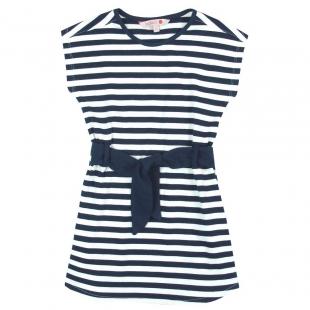 Boboli triibuline kleit 477075, Sinine triip