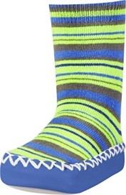 Playshoes sokk-sussid Triip 481119, 791 sinine/roheline