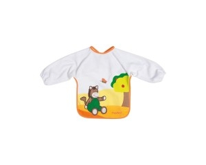 Playshoes pudipõll varrukatega HAPPY ANIMALS 507197, 625 oranz