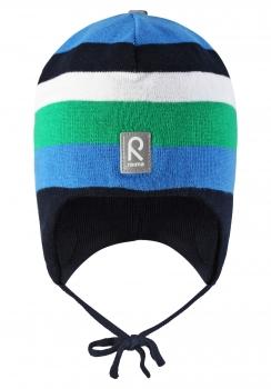 Reima müts AQUEOUS 518270, Sinine/roheline