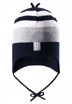 Reima müts AQUEOUS 518270, Tumesinine/Hall