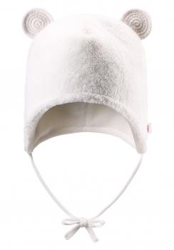 Reima beebi fliismüts LEO 518306, White