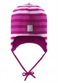 Reima müts AUVA 518316, Tume roosa
