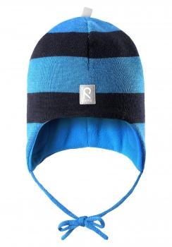 Reima müts AUVA 518316, Sinine/tumesinine
