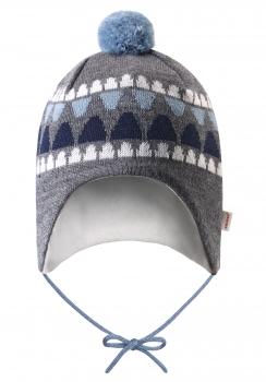 Reima beebimüts UNONEN 518378, Hall/sinine