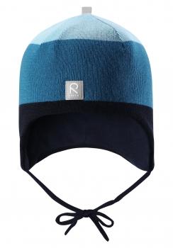 Reima müts AUVA 518423, 698C T.sinine/triip
