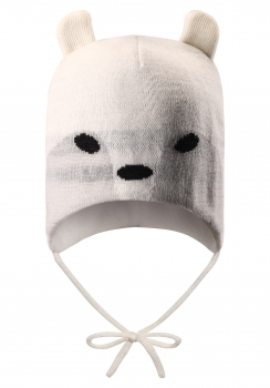 Reima müts HUKKANEN 518433, 0100 Valge