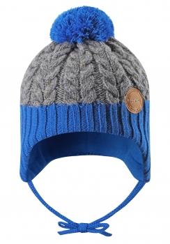 UUS KOLLEKTSIOON Reima müts PAKKAS 518537, 6501 Sinine