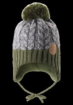 UUS KOLLEKTSIOON Reima müts PAKKAS 518537, 8930 Khakiroheline