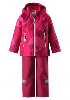 Reimatec® Kiddo talvekomplekt GRANE 523113, 3566 Tumeroosa/roosa