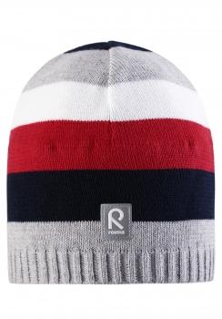 Reima müts DATOLINE 528377, Hall/punane