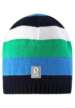 Reima müts DATOLINE 528377, Sinine/roheline