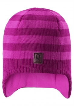 Reima müts LUMULA 528415, Tume roosa