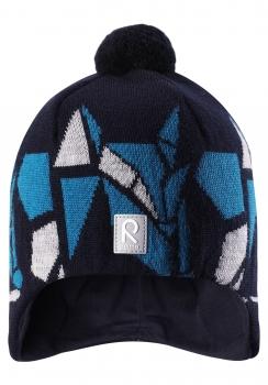 Reima müts KAJA 528548, 698A tumesinine/triip